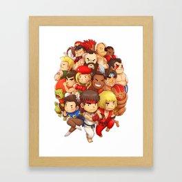 Street Fighter Framed Art Print