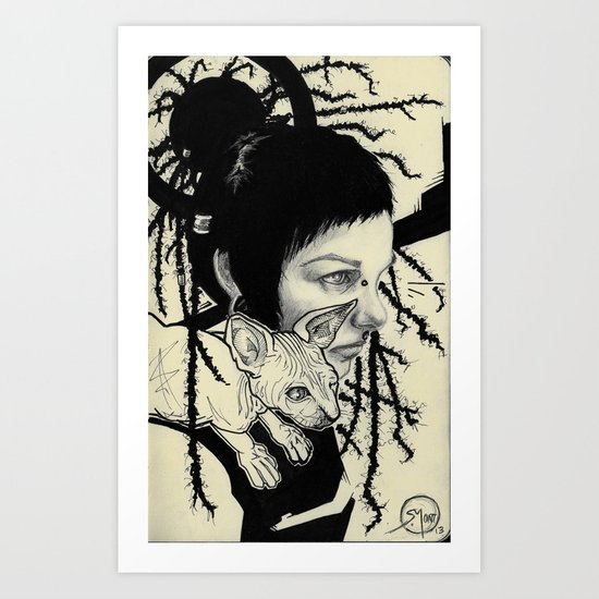 007 Eml0 Art Print