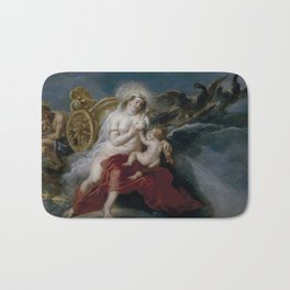 The Birth of the Milky Way by Peter Paul Rubens Bath Mat