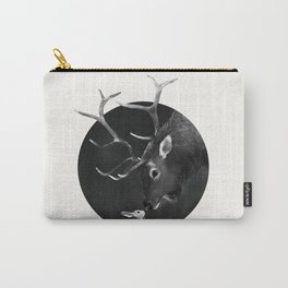 Elk and Rabbit Carry-All Pouch