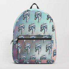Aqua horse Backpack