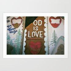 Od Is Love Art Print