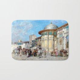 Alberto Pasini Horse Market, Syria Bath Mat