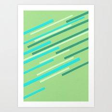 Speed II Art Print