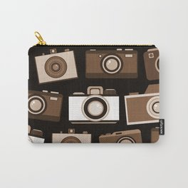 cameras (black) Carry-All Pouch