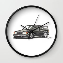 190 EVO Wall Clock