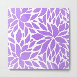 Bloom - violet Metal Print