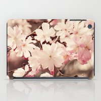 cherry blossom iPad Cases featuring Cherry Blossom by Erin Johnson