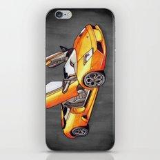 Orange Bull iPhone & iPod Skin