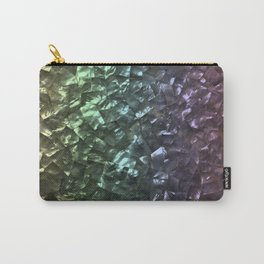Natural Shimmering Mother of Pearl Nacre Carry-All Pouch