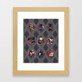Bloodborne Argyle Framed Art Print