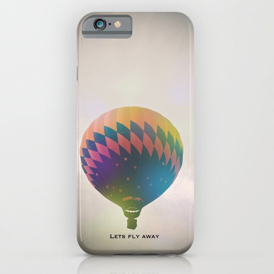 Lets Fly Away iPhone & iPod Case