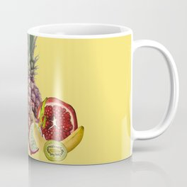 fresh Fruits summer Selection - yellow Coffee Mug