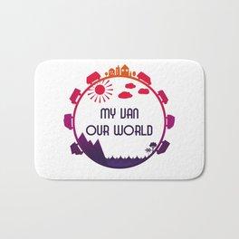 My Van Our World - Sunset Bath Mat
