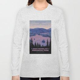 Mont-Tremblant Provincial Park Long Sleeve T-shirt