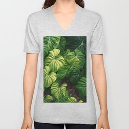 Australia tropical plants Unisex V-Neck