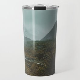 Hiking Around the Mountains & Valleys of New Zealand Travel Mug