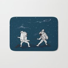 Fencing at a higher Level Bath Mat