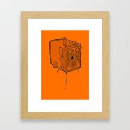 box brownie Framed Art Print