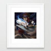 aladdin Framed Art Prints featuring Aladdin by Kolshio