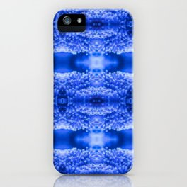 beautiful coral pattern blue magical iPhone Case