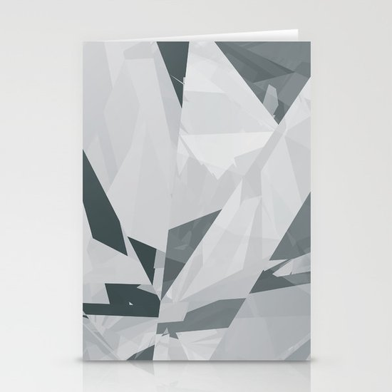 Ice cracks #1 Stationery Cards