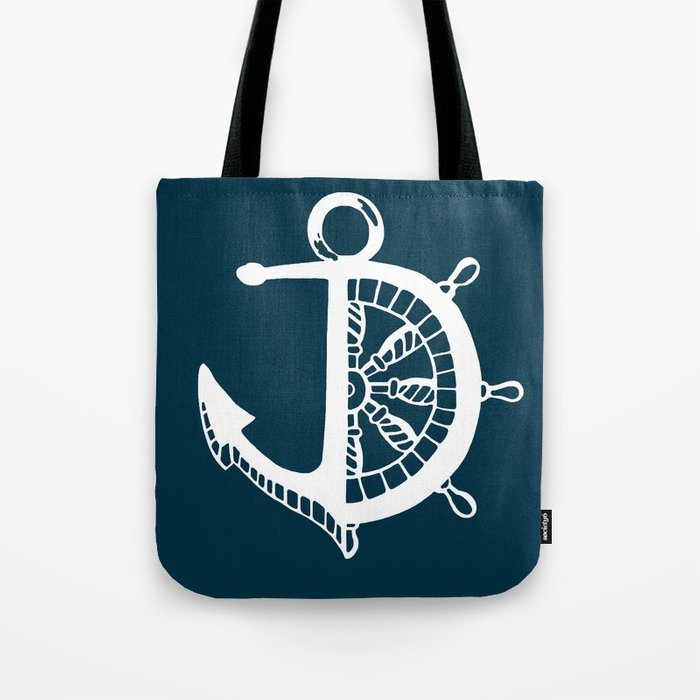 Anchor Helm Tote Bag