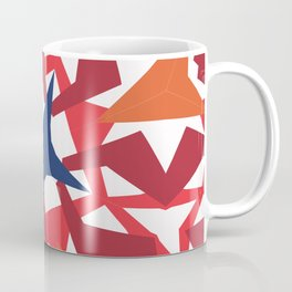Exotic flower kaleidoscope Coffee Mug