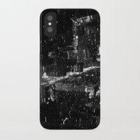manhattan iPhone & iPod Cases featuring Manhattan by Anne Dante