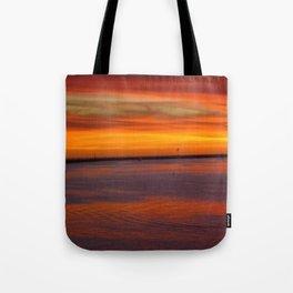 Westside Sunset Tote Bag