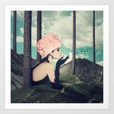 Breathless Art Print