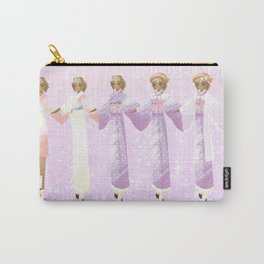 Carousel Maiden Design Sheet Carry-All Pouch