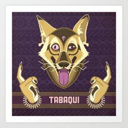 Tabaqui Art Print