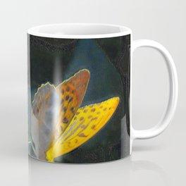 Orange Butterflies IV Coffee Mug
