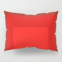 Block Colors - Reds Pillow Sham