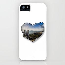 I Love Romania iPhone Case