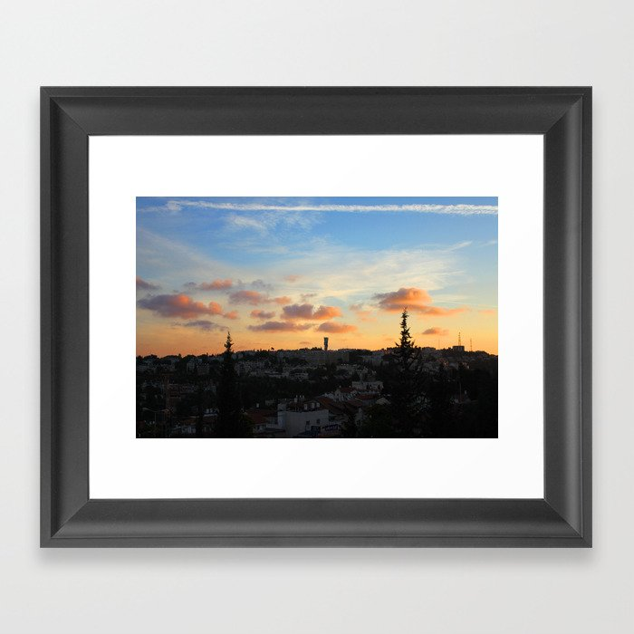 Jerusalem of Light Framed Art Print