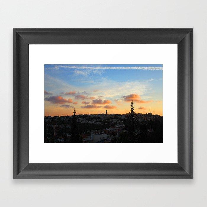 Jerusalem of Light Framed Art Print