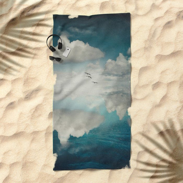 Spaces II - Sea of Clouds Beach Towel