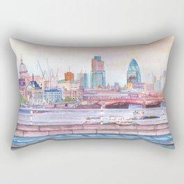 Colorful London Rectangular Pillow