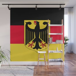 Germany flag emblem Wall Mural