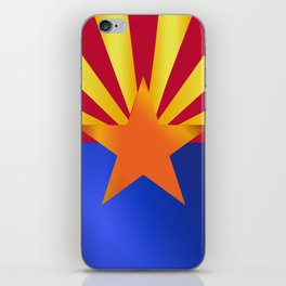 Arizona State Flag Gloss iPhone Skin