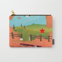 Bucharest Romania vacation map Carry-All Pouch