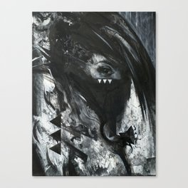 Witch's eye Canvas Print