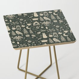 Winter Nights: Forest Side Table