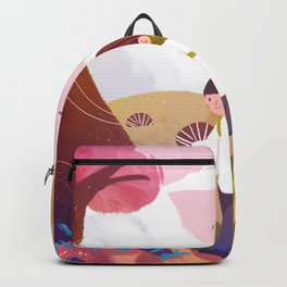 Cute Walking Boy Backpack