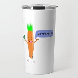 Carrot hates Kale! Travel Mug