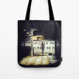 Stranger In Town Tote Bag