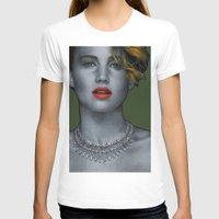 jennifer lawrence T-shirts featuring Jennifer Lawrence by Marv Castillo