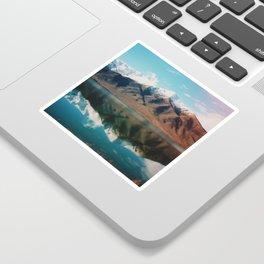Film photo of New Zealand Glacier Landscape Sticker